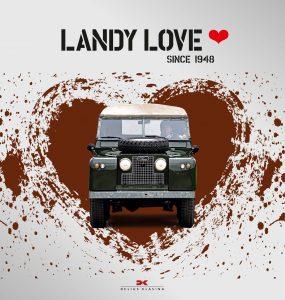 Landy Love since 1948 Delius Klasing Cover
