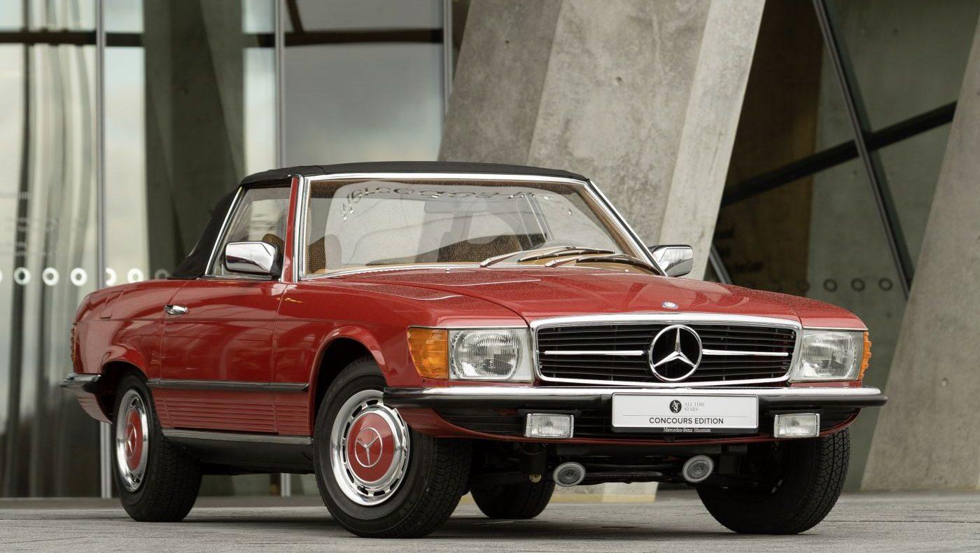 Mercedes-Benz R 107 280 SL 1976 Front (2)