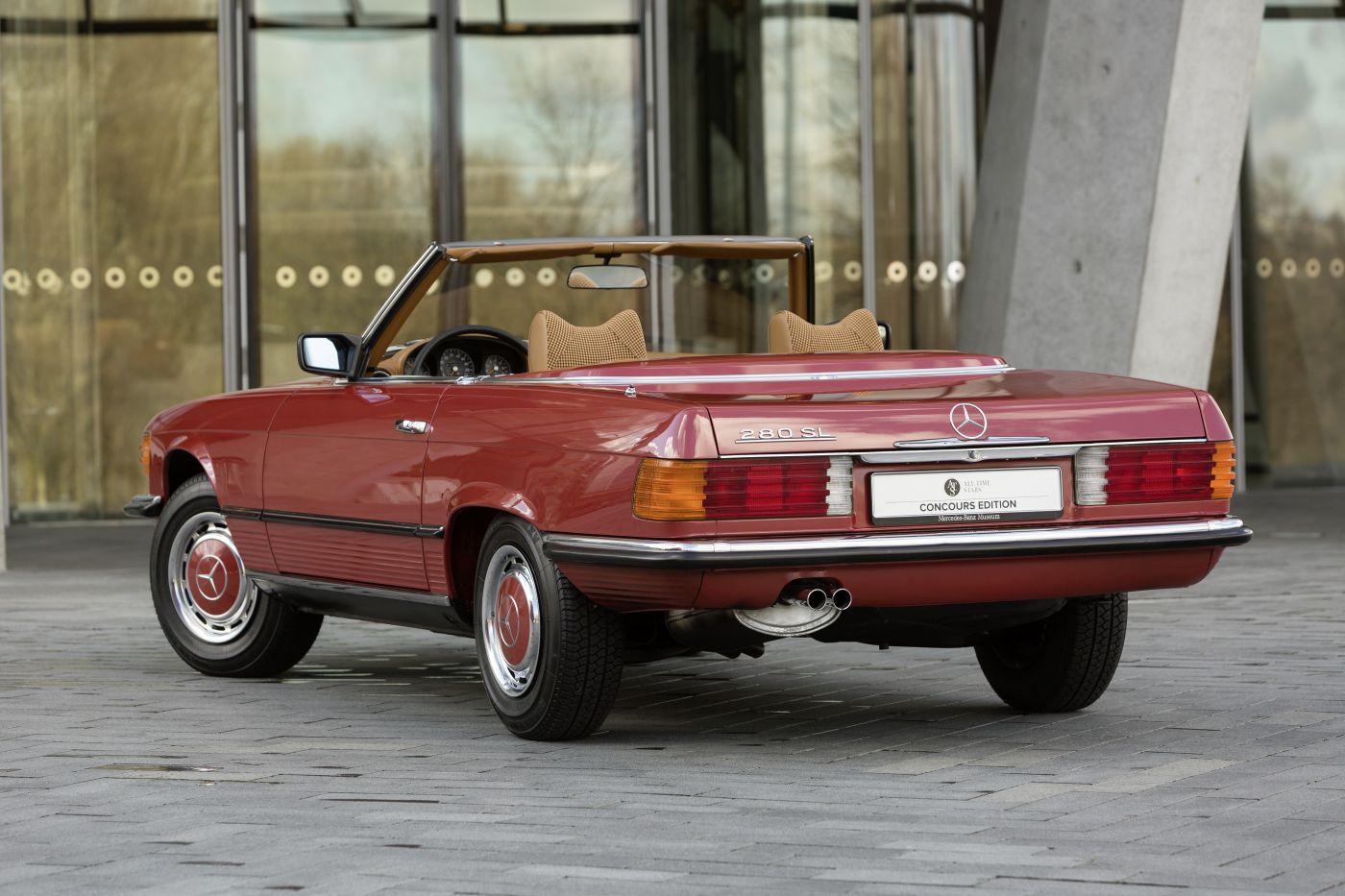 Mercedes-Benz R 107 280 SL 1976 Heck (1)