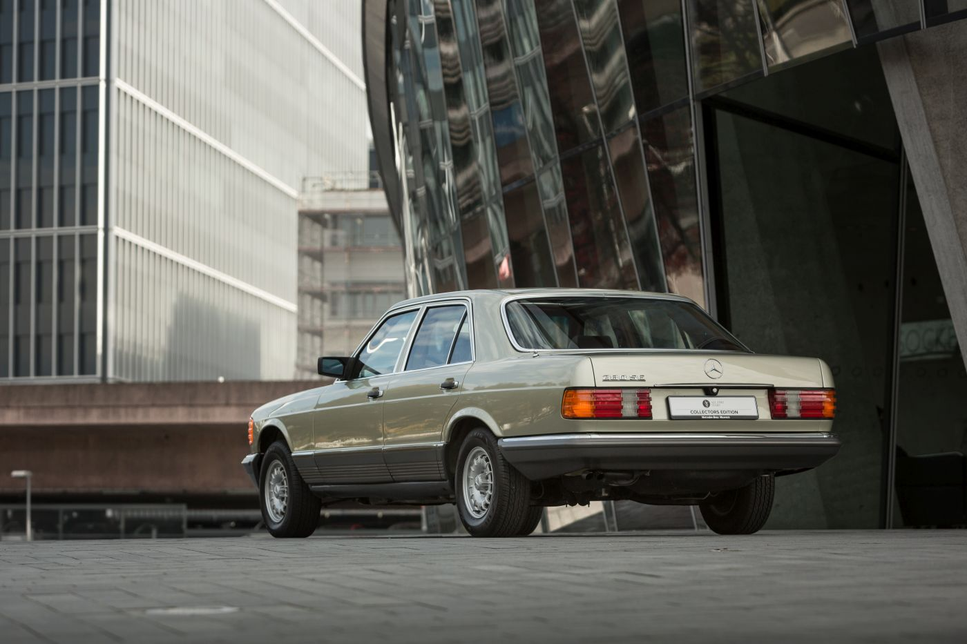 Mercedes-Benz S-Klasse W 126 280 SE 1982 Heck (2)