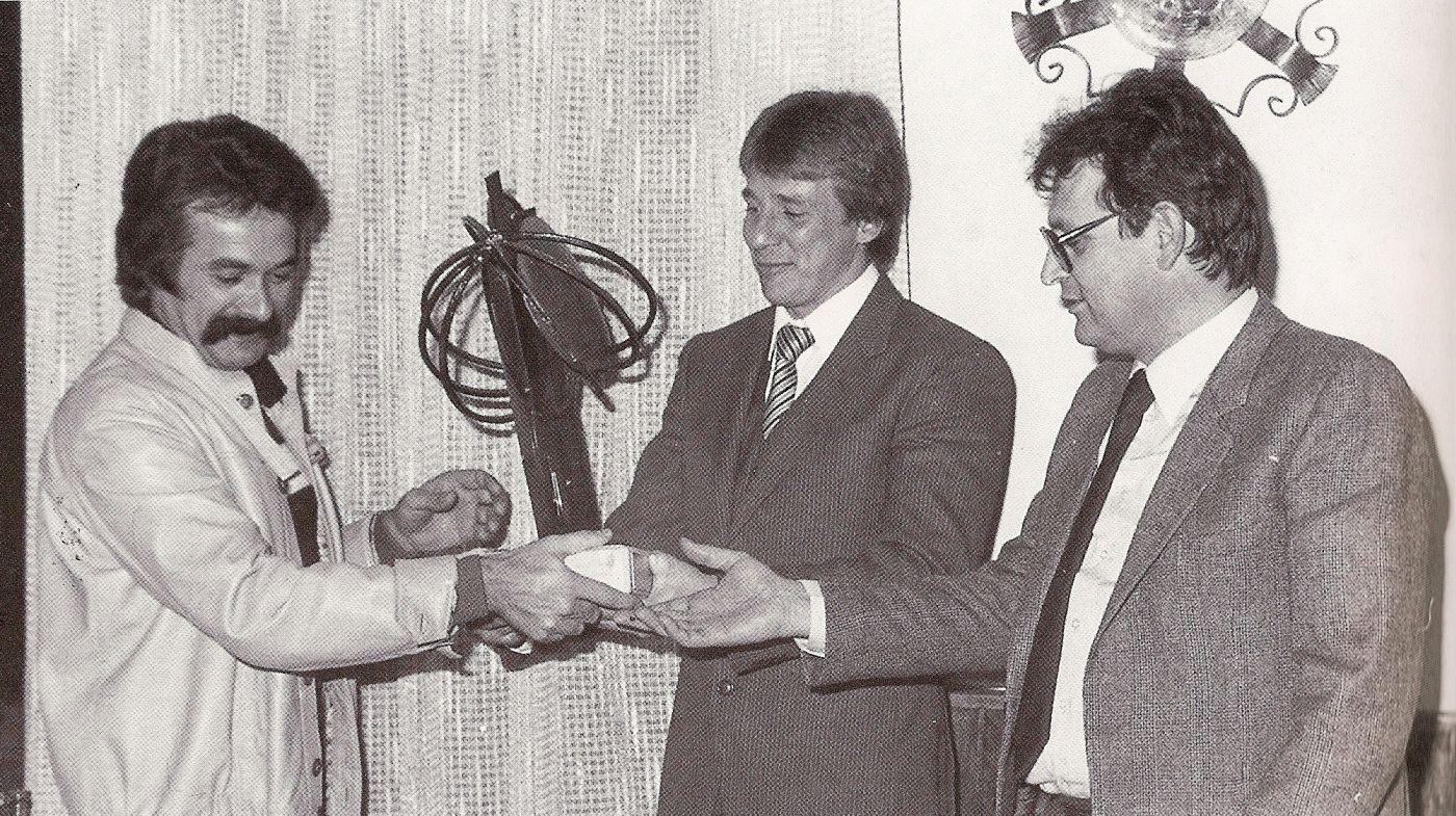 Massimo Tamburini Jon Ekerold Giuseppe Morri