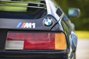 1978 BMW M1 blau Detail (11)
