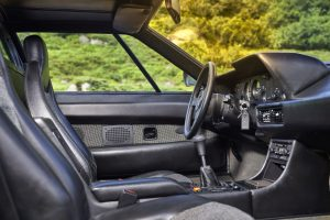 BMW M1 rot Interieur 2