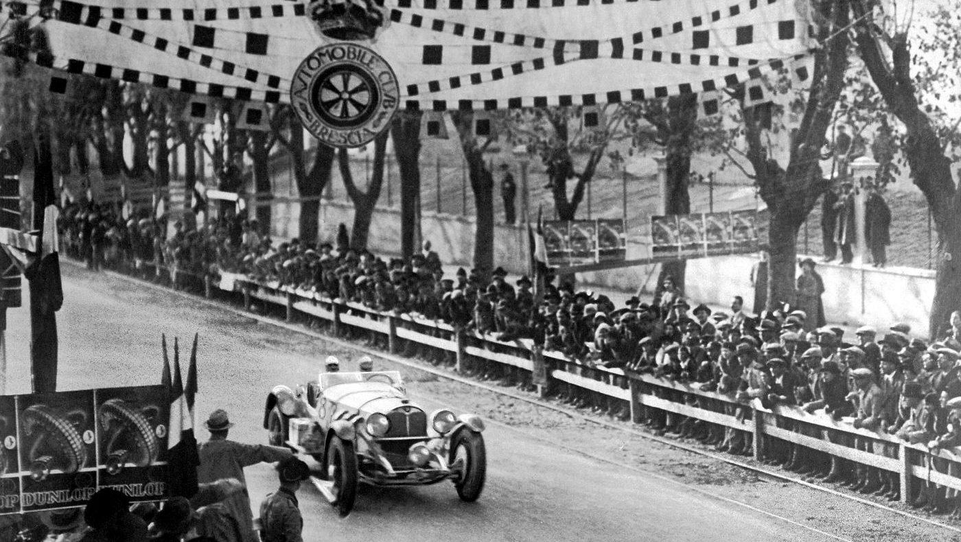 Mille Miglia 1931 Rudolf Caracciola Mercedes-Benz SSKL (2)