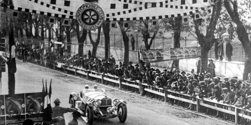 Mille Miglia 1931 – Der Sieg von Rudolf Caracciola im Mercedes-Benz SSKL