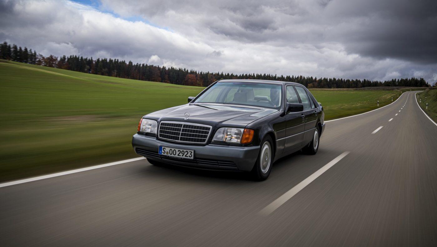1992 Mercedes-Benz 600 SEL W140 (1)