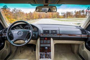 1992 Mercedes-Benz 600 SEL W140 Interieur