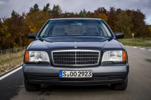 1992 Mercedes-Benz 600 SEL W140 Front
