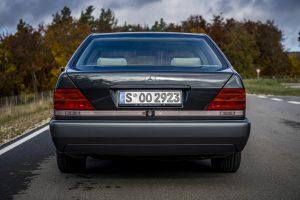 1992 Mercedes-Benz 600 SEL W140 Heck