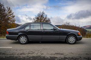1992 Mercedes-Benz 600 SEL W140 Seite