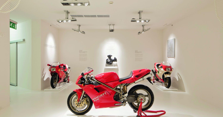 Motorräder der 90er - Ducatti