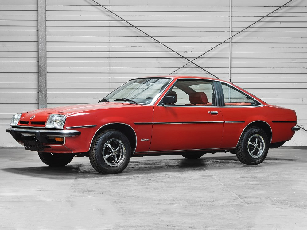 Opel Manta Rot