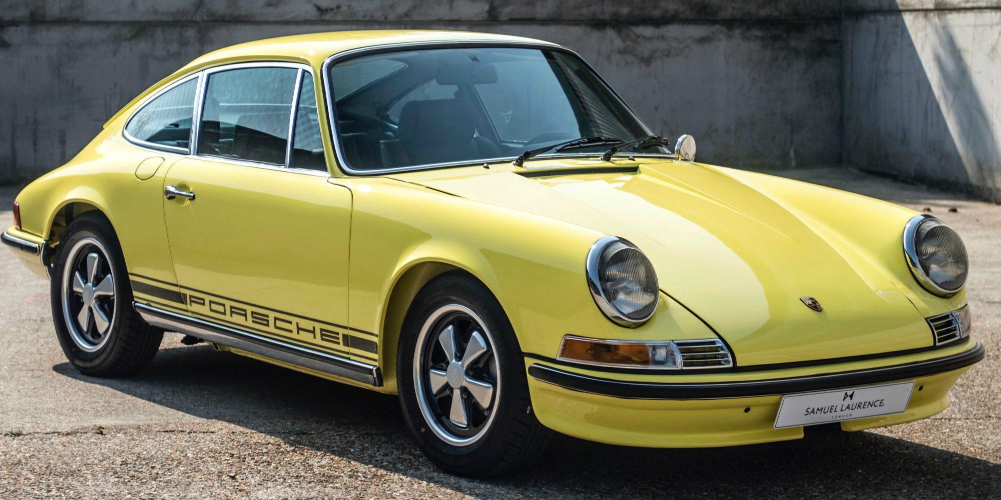 Porsche 911 Gelb