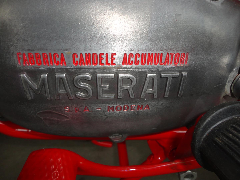 Maserati Motorräder Detail 1