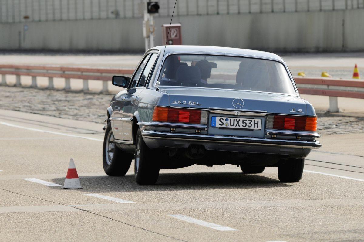 Mercedes Benz S Klasse W116 6.9