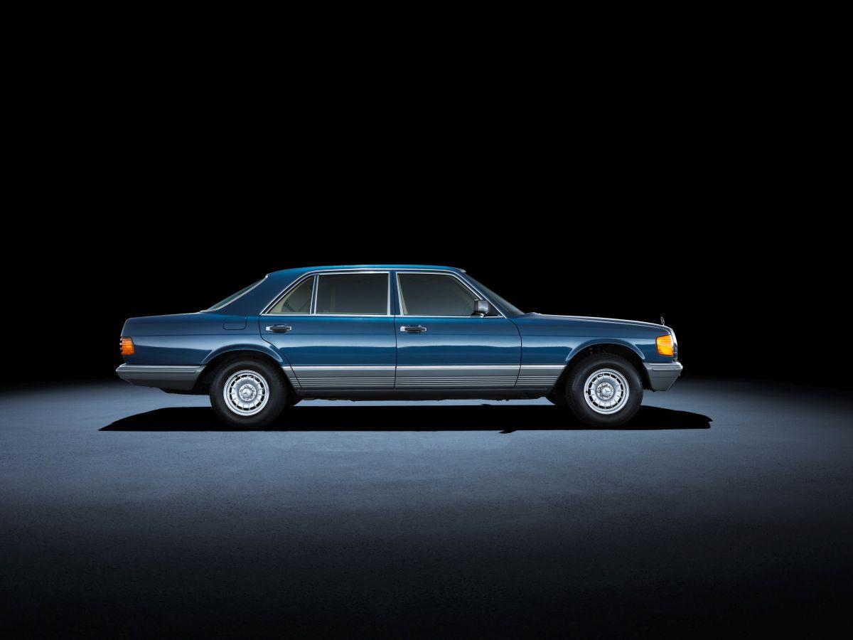 Mercedes Benz S Klasse W126 1