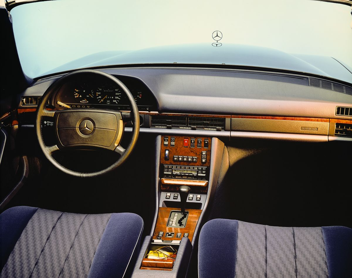 Mercedes Benz S Klasse W126 5