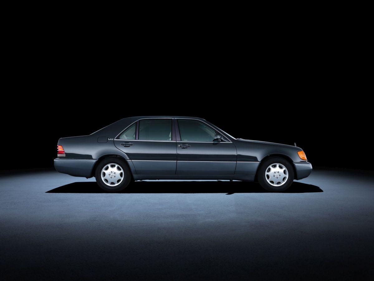 Mercedes Benz S Klasse W140 1