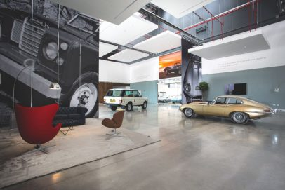 Classic Works Jaguar Land Rover Titel
