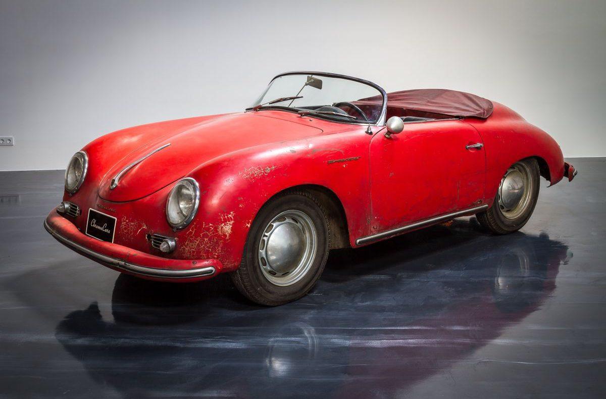 Porsche 356 A Speedster Totale Titel