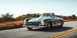 Faszination 60 Jahre Mercedes 300 SL Roadster