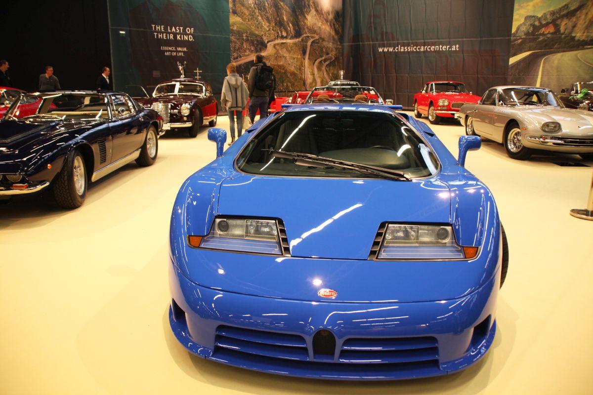 Classic Expo Salzburg 2017 Bugatti EB110