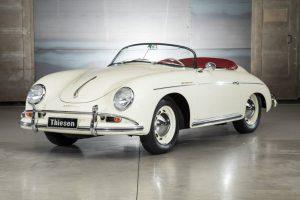 Porsche 356 Speedster seitlich