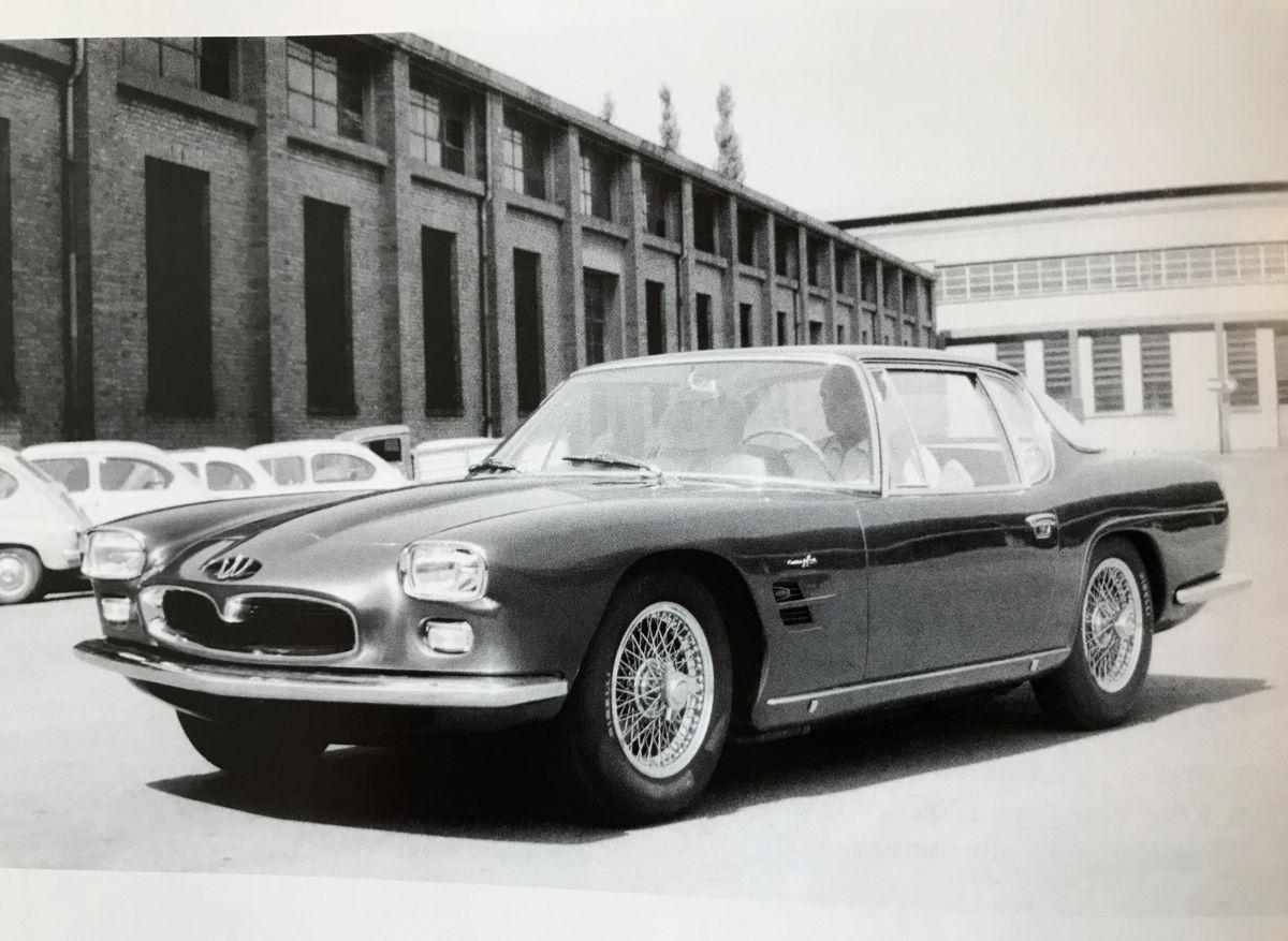Maserati 5000 GT Frua historisch