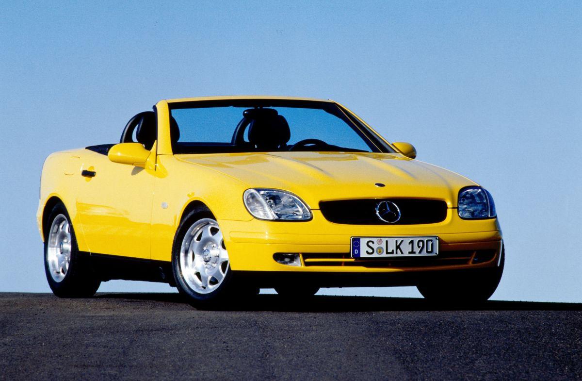Mercedes-Benz SLK R 170 gelb