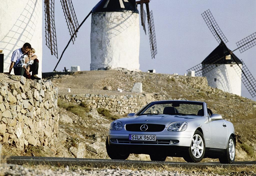 Mercedes-Benz SLK R 170 silber