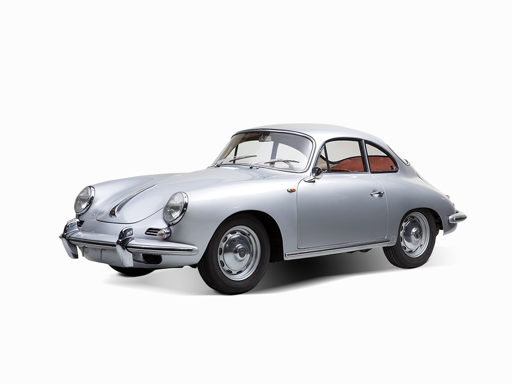 Lot8_Porsche 356 Coupe Super 90, Baujahr 1962