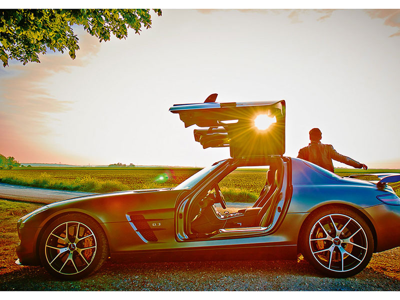 Mercedes Benz sls Amg