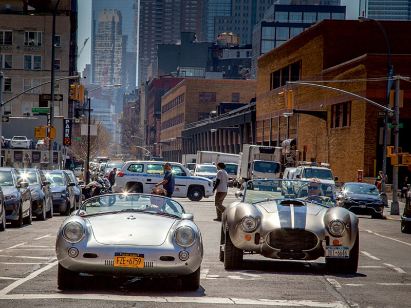 Porsche 550 Shelby Cobra New York