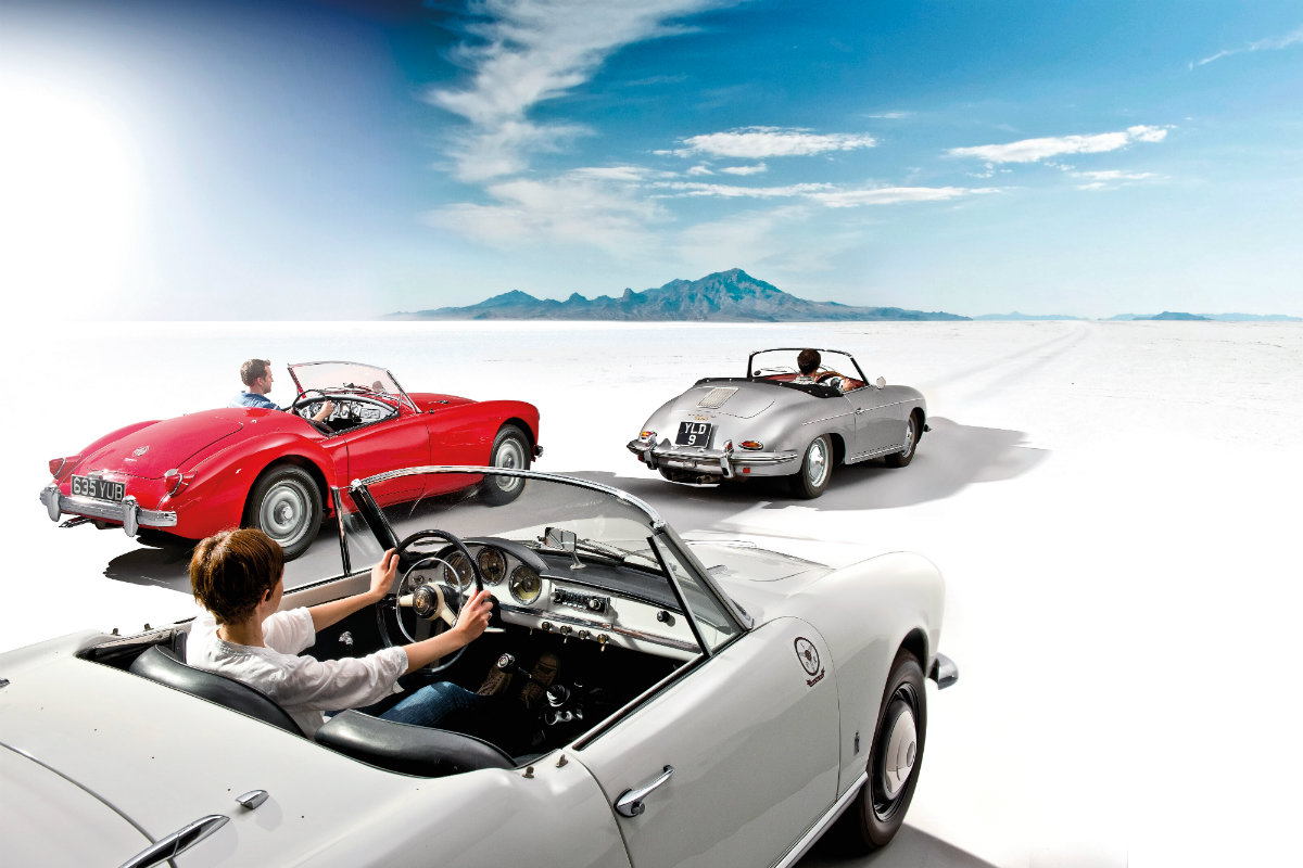 Roadster der 50er Jahre