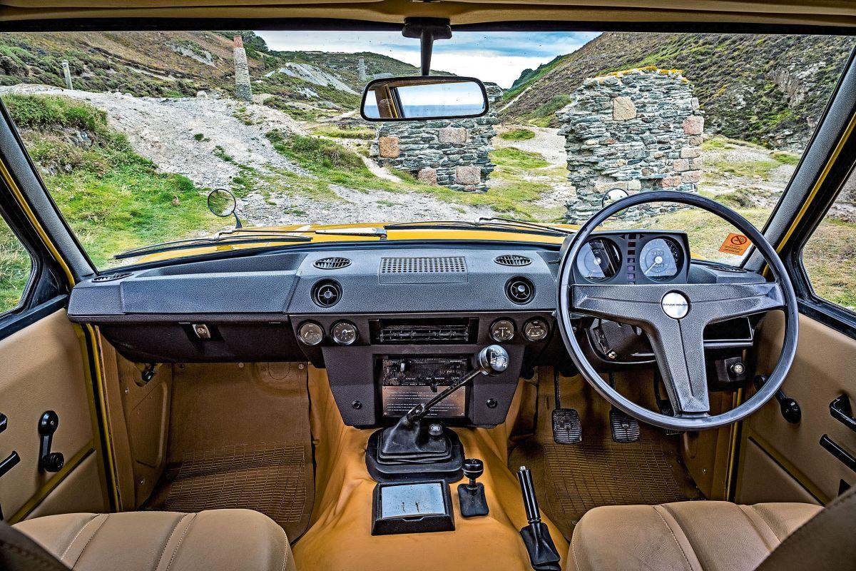 Range Rover Classic Cockpit