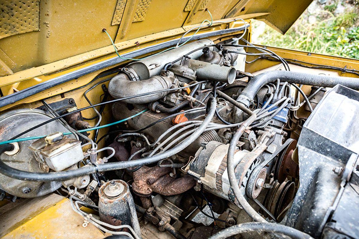 Range Rover Classic Motor