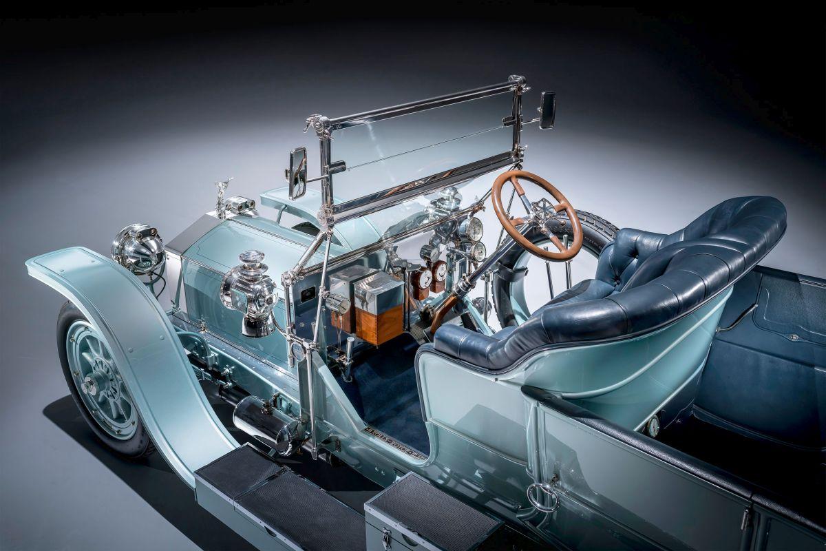 Rolls-Royce Silver Ghost Cockpit