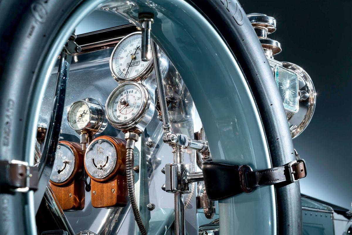 Rolls-Royce Silver Ghost Detail