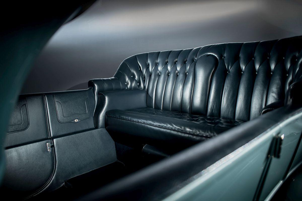 Rolls-Royce Silver Ghost Interieur