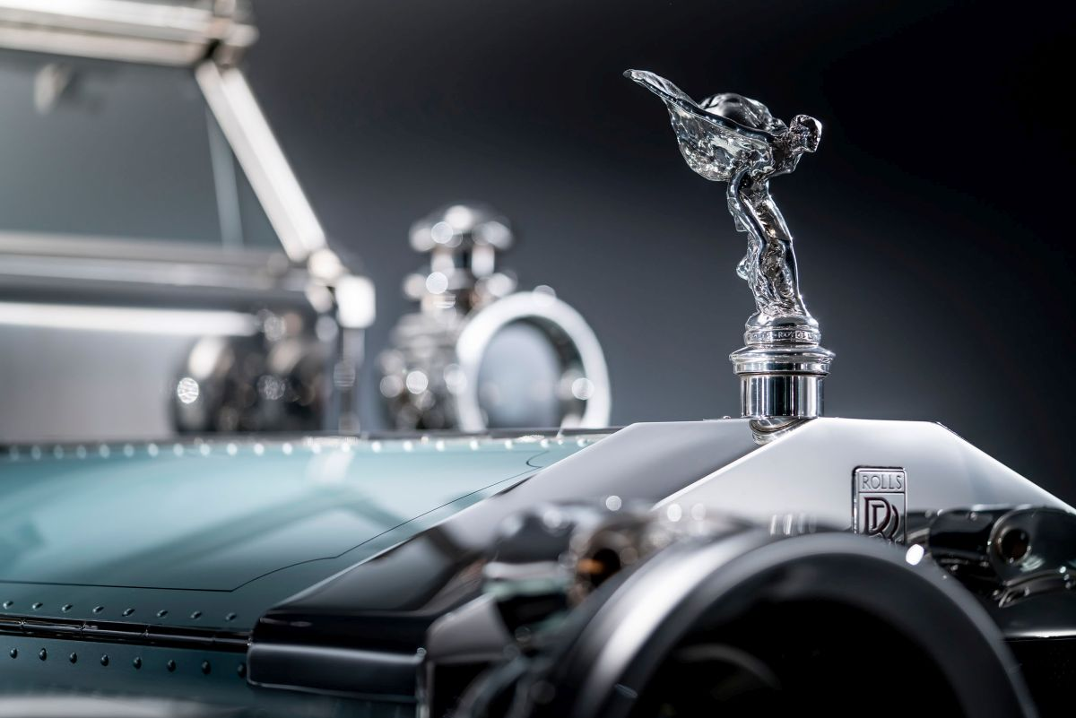 Rolls-Royce Silver Ghost Spirit of Ecstasy