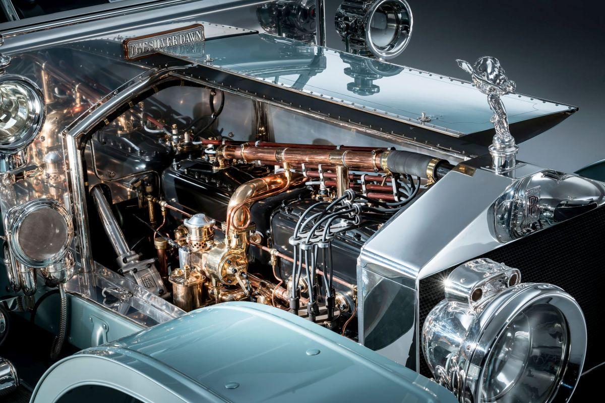 Rolls-Royce Silver Ghost Motor