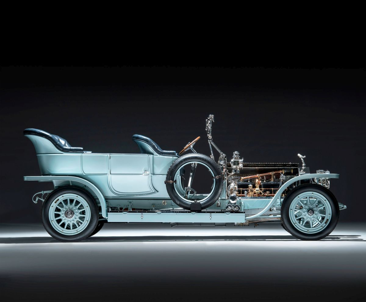 Rolls-Royce Silver Ghost Seite 1