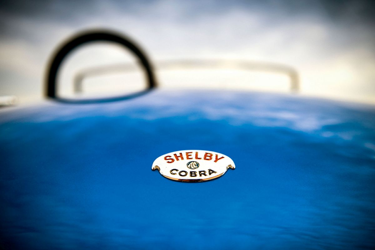 Erste Shelby Cobra Detail