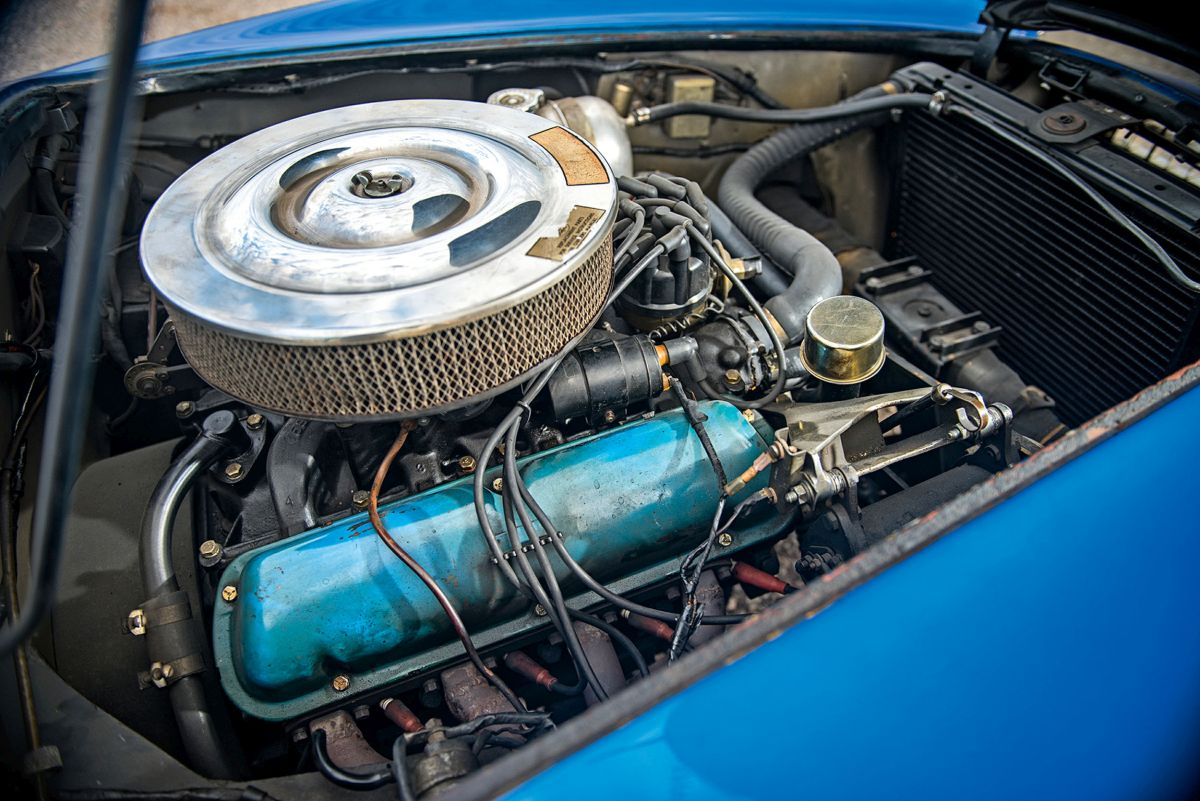 Shelby Cobra Motor 1
