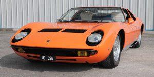 Lamborghini Miura, unica perchè unica