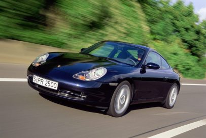 Porsche 996 exterior
