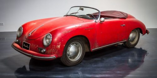This surviving Porsche 356 A Speedster is true automotive treasure.