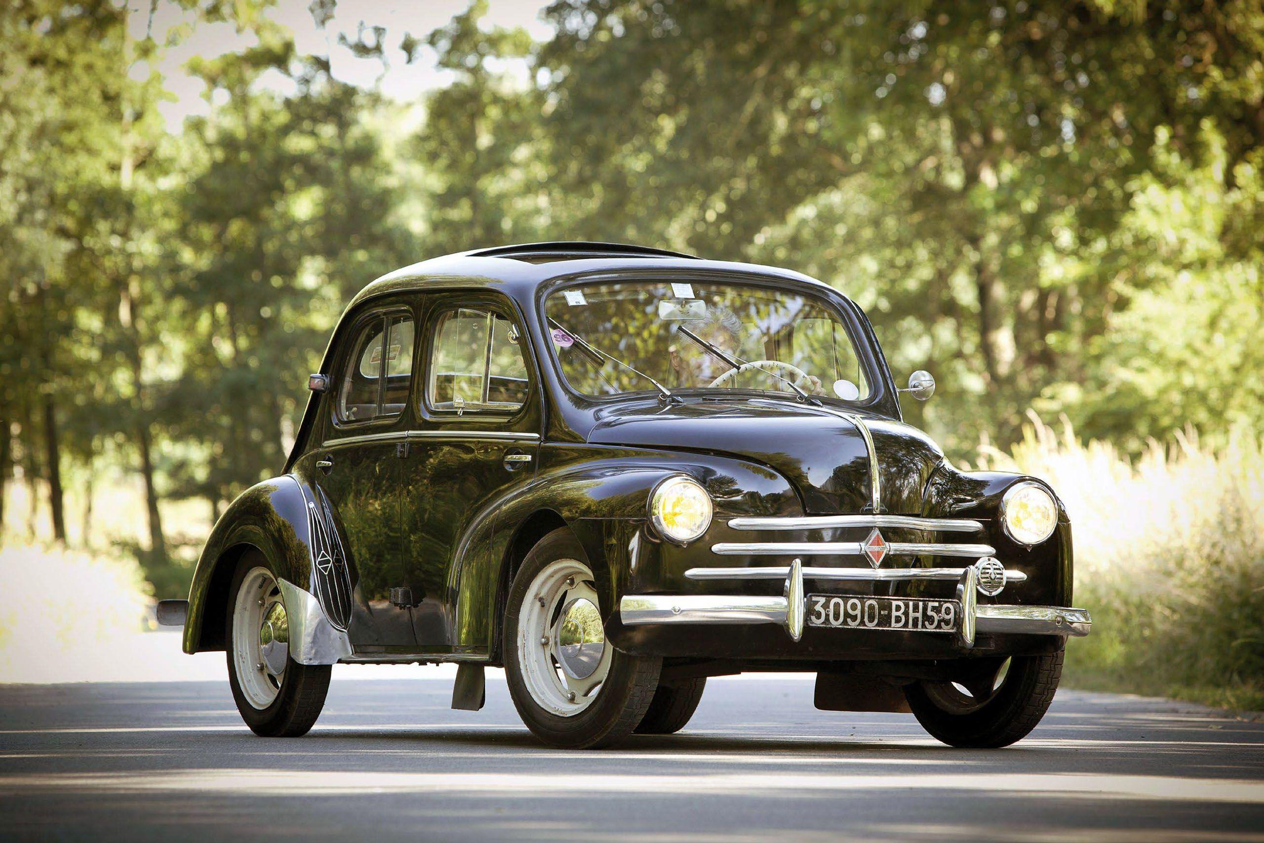 Renault-4CV-Cremeschnittchen