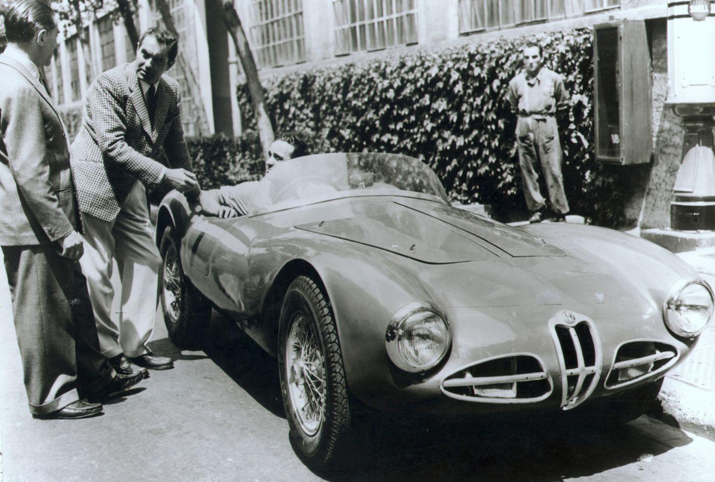 Alfa Romeo Disco Volante Fianchi Stretti