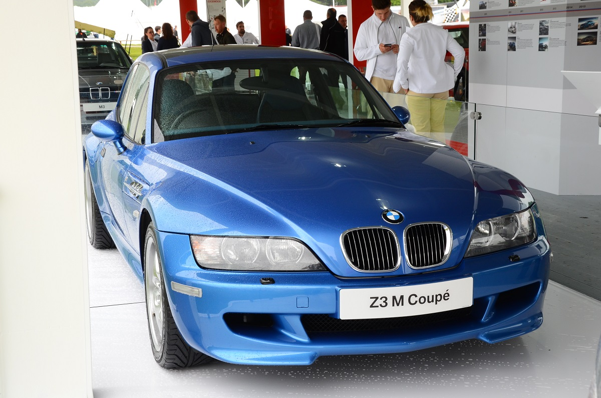 BMW Z3 M Coupe front